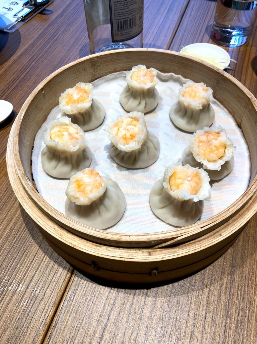 One of my best-ever meals was this December when the girls and I ran into Central London to get an iPhone battery replaced and realized that Din Tai Fung was open and had a short line.