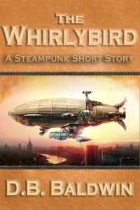 Steampunk airship cover