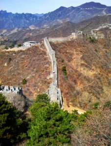 Taken from the window at tower 1, Mutianyu Great Wall.
