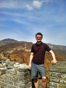 The Mutianyu Great Wall. Somewhere around tower 8 or 9.