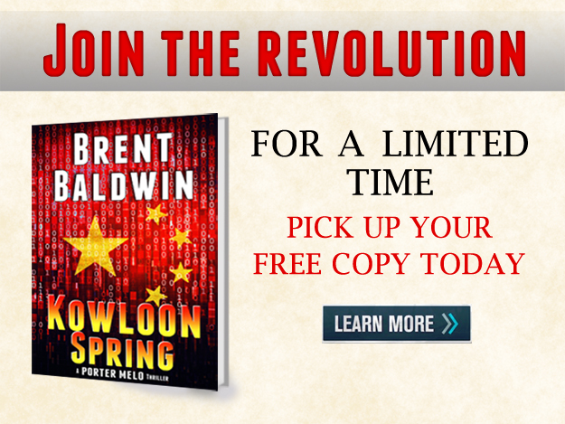 Join the revolution and receive a free copy of Kowloon Spring